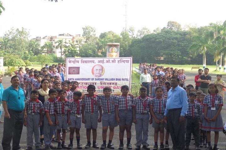 Kendriya Vidylaya-Celebrating National Unity Day