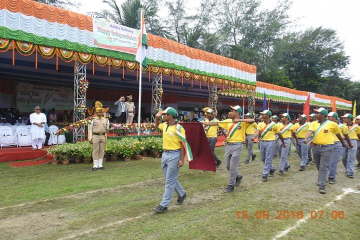 Kendriya Vidylaya-Independence Day Celebrations