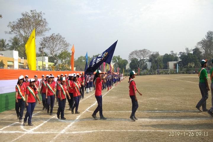 Kendriya Vidylaya-Republic Day Celebrations