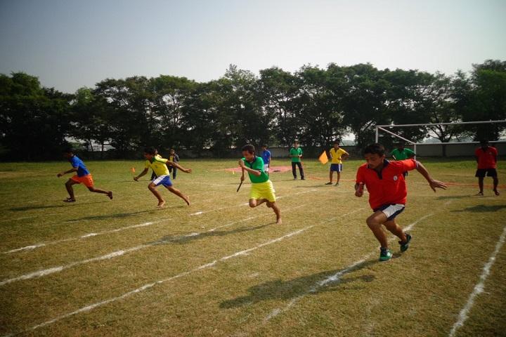 Kendriya Vidylaya-Running Competition