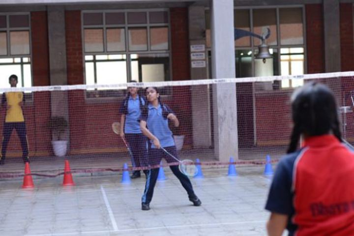 Bhavans Ram Kishore Sarda Vidya Mandir-Badminton Court
