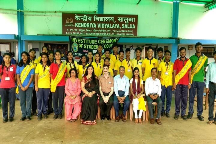 Kendriya Vidyalaya-Ceremony
