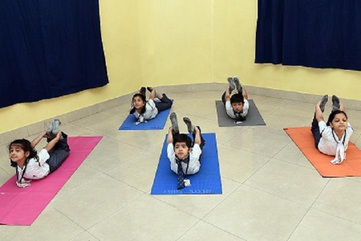 Lakshmipat Singhania Academy-Yoga Class