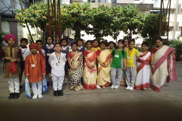 Mahadevi Birla World Academy-Fancy Dress