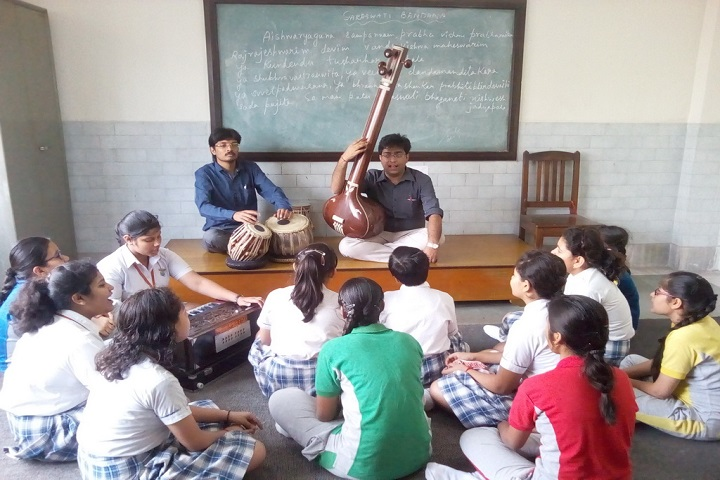Mahadevi Birla World Academy-Music class