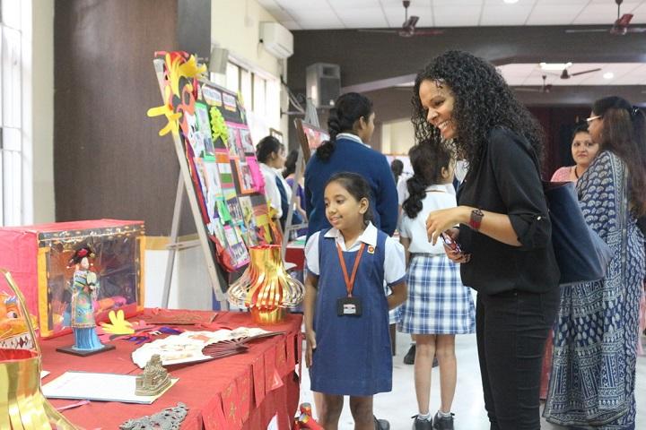 Mahadevi Birla World Academy-School Exhibition
