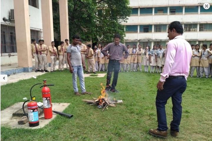 Manisha International School-Fire Exhistinguish Camp