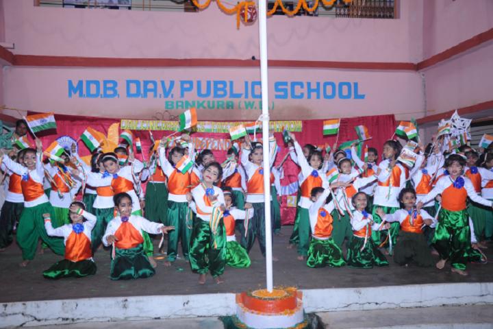 Manohari Devi Bajia Dav Public School-Independence Day Dance Performance