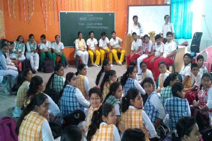 Manohari Devi Bajia Dav Public School-Quiz Competition