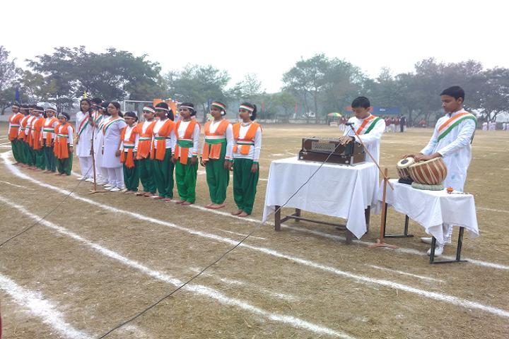 Manohari Devi Bajia Dav Public School-Republic Day Celebrations