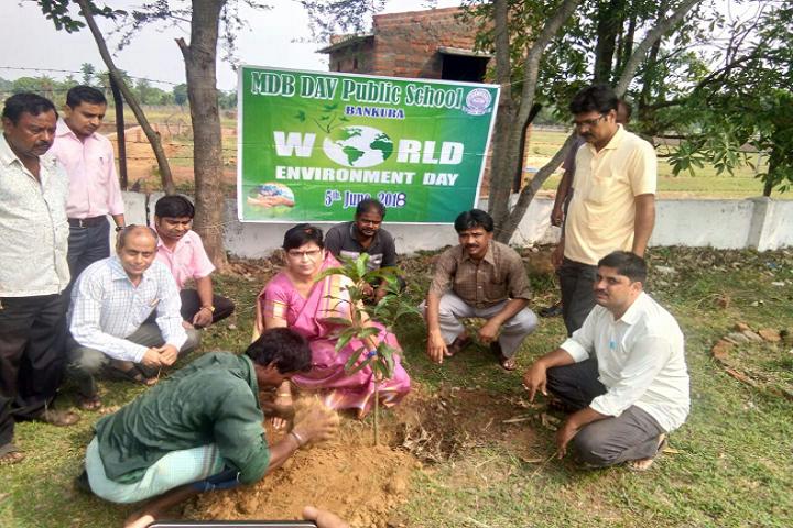 Manohari Devi Bajia Dav Public School-World Environmental Day