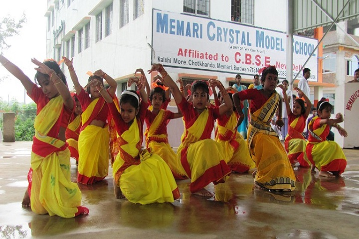 Memari Crystal Model School-Dance Class