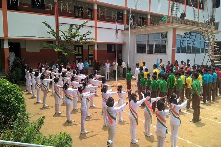 Memari Crystal Model School-Independence Day Celebration