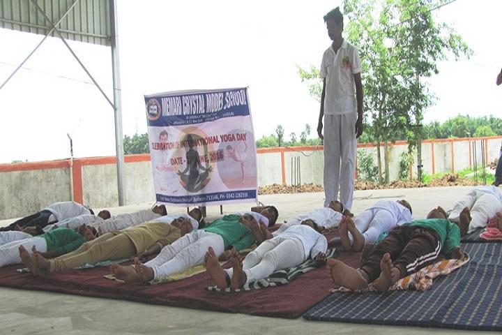 Memari Crystal Model School-Yoga Class