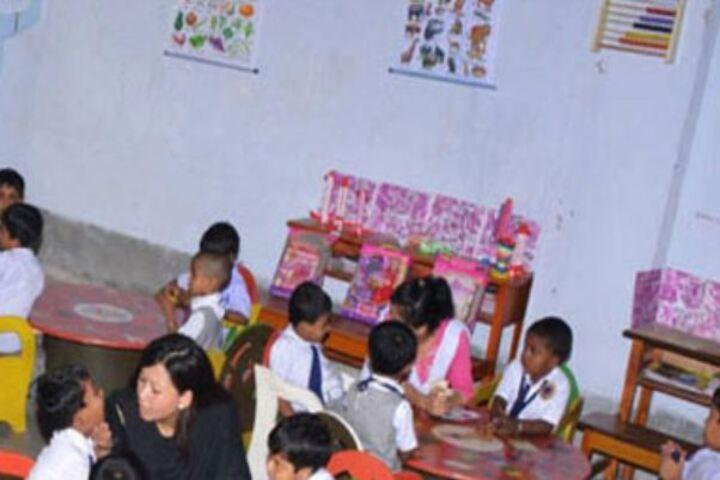 Model School-Kids Play Room