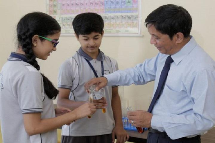 Modi Public School-Chemistry Lab