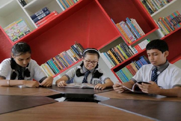 Modi Public School-Library