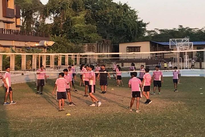 Modi Public School-Outdoor Games