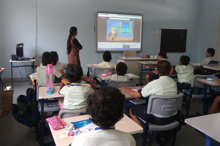 Mount Litera Zee School-Digital Class Room