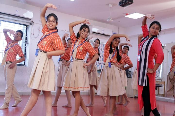 Narayana School-Dance