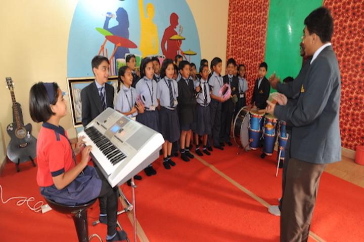 Brighton International School-Music Studio