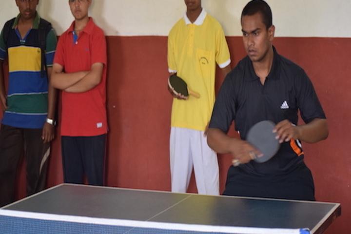 Brighton International School-Table Tennis