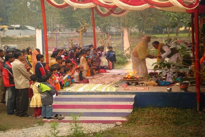 Naxalbari Heritage Academy-Pooja