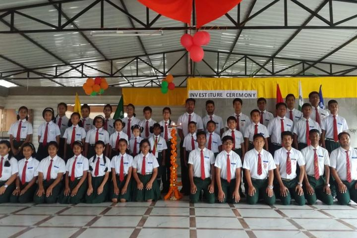North Point Residential School-Investiture Cermony