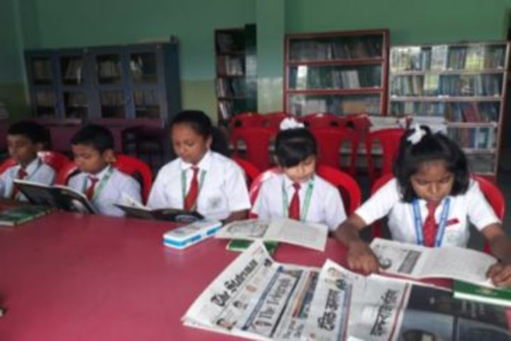 North Point Secondary School-Library