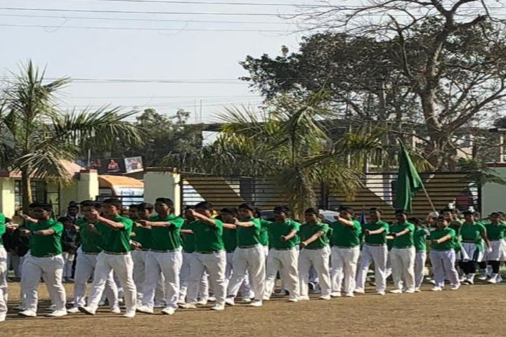 North Point SecondarySchool-March Past