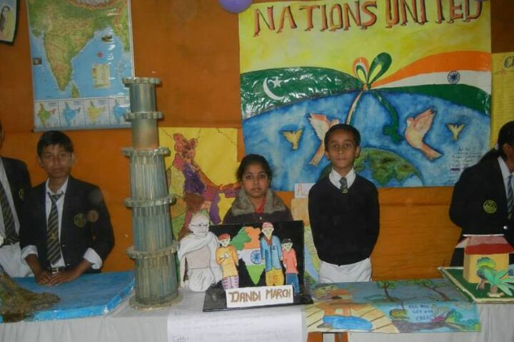 Priyadarshini Public School-Exhibition