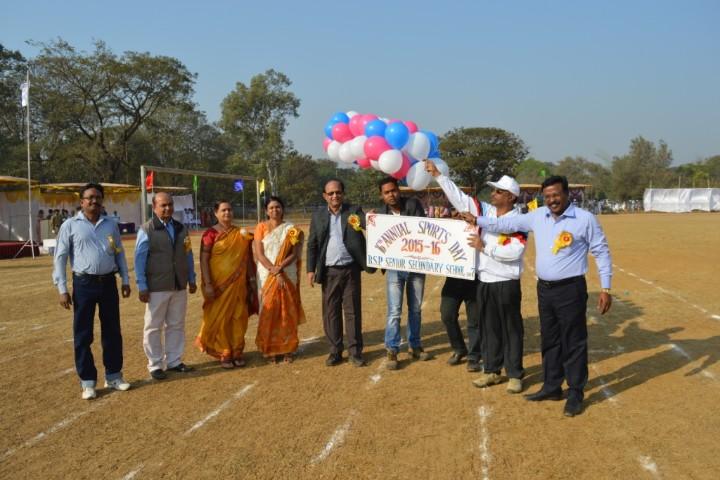 BSP SR SECONDARY SCHOOL sports day