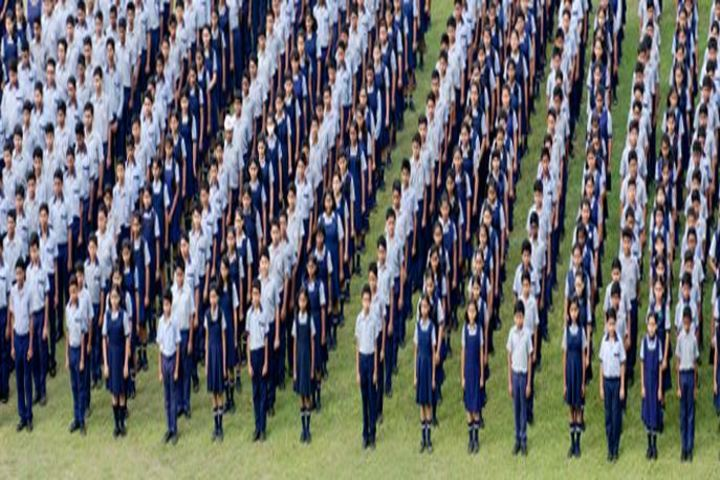 S K S Public School-Assembly Ground