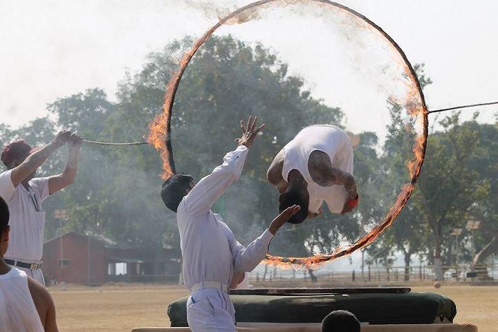 Sainik School-Gymnastics