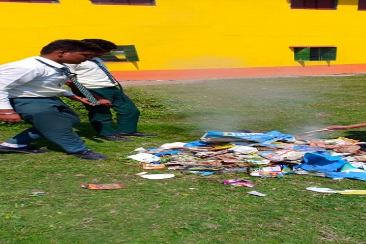 Saint Christophers Mission School-Swachh-Barath