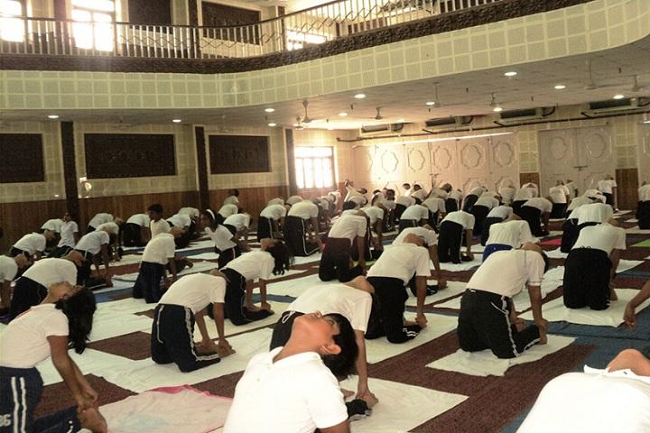 Salt Lake Shiksha Niketan-Yoga-Day
