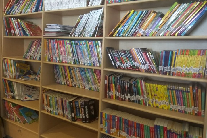 Saraswati Devi International School-Library