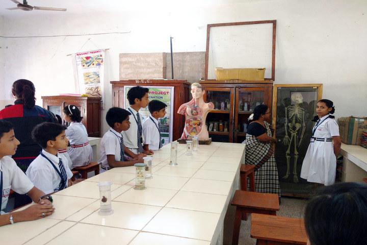 Burgess English Higher Secondary School-Biology Lab