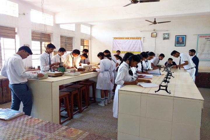 Burgess English Higher Secondary School-Physics Lab