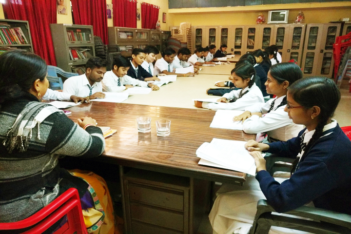 Burgess English Higher Secondary School-Library