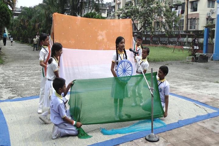 Shri Krishna Pranami Vidya Niketan-Independence day