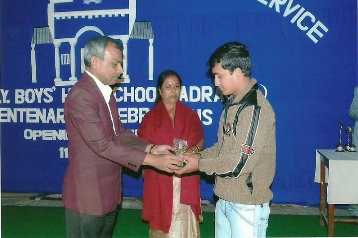 South East Railway Boys Higher Secondary School-Achievements