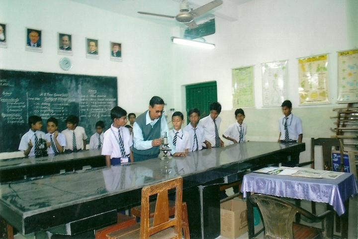 South East Railway Boys Higher Secondary School-Biology Lab