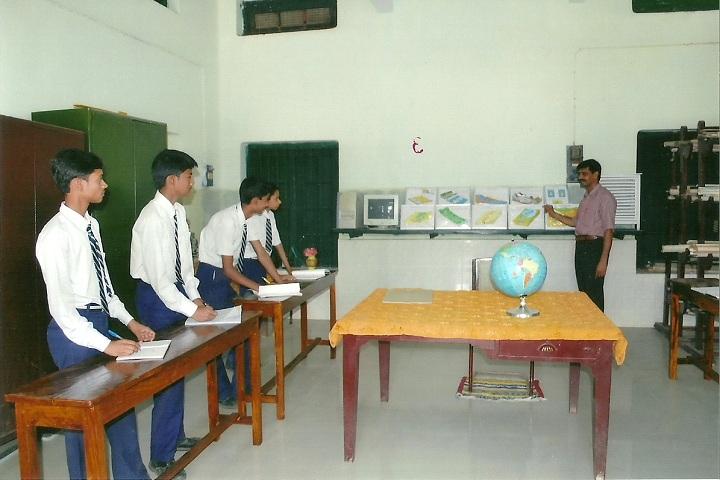 South East Railway Boys Higher Secondary School-Geography Lab