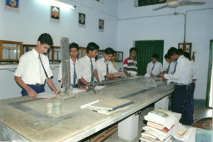 South East Railway Boys Higher Secondary School-Physics Lab