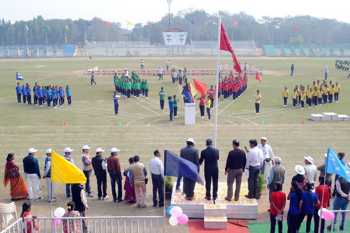 South Eastern Railway Senior Secondary School-Sports day