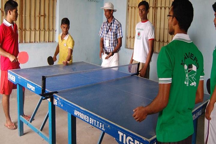 St Xaviers High School-Indoor Games