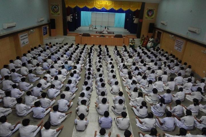 St Josephs Convent High School-Yoga day