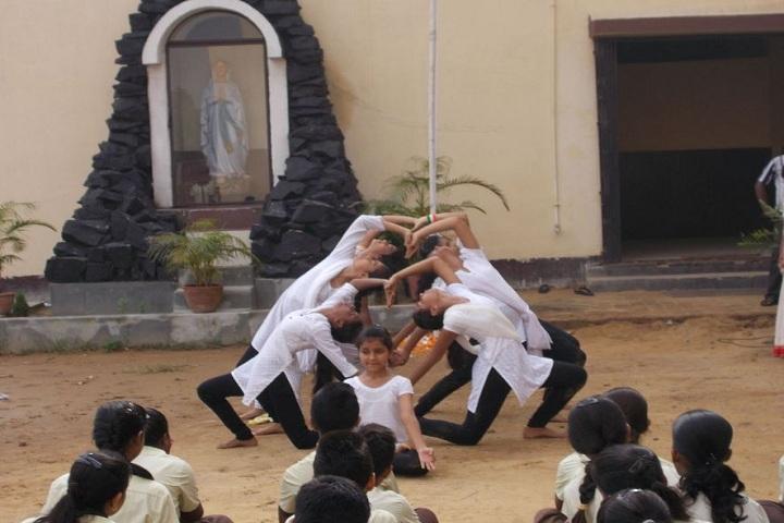St Judes High School-Yoga day