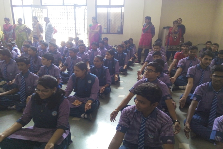 Career Public School-Yoga Day